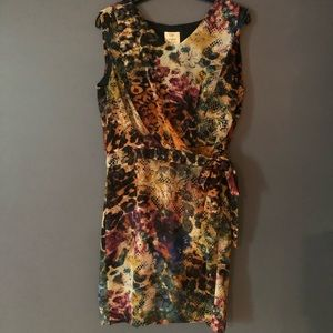 Suzi Chin for Maggy Boutique 10P Sleeveless dress